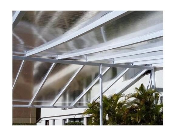 bâche transparente toit pergola